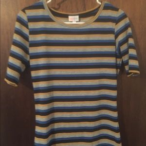 Striped LulaRoe Gigi size Small